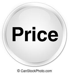 Price premium white round button