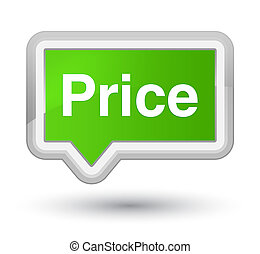 Price prime soft green banner button