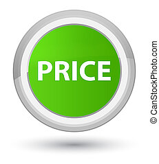 Price prime soft green round button