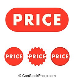 Price red button