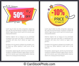 Price Reduction Announcement Bright Promo Banner