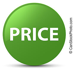 Price soft green round button