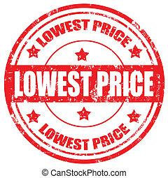 price-stamp, 最も低く
