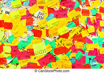 Price stickers