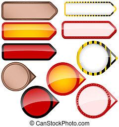 Price Tag - Design Element, Vector Illustration