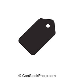 Price tag graphic icon design template