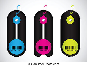 Price tags with special design