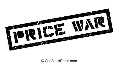 Price War rubber stamp