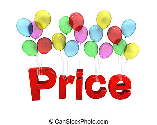 Price with balloon