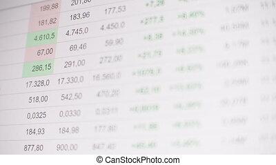 prices., récupération, monter, crise, économique, automne, ...