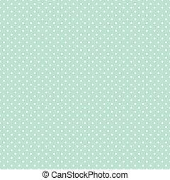 pricken, pastell, seamless, grön, polka