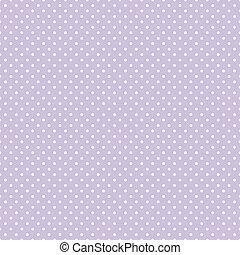 pricken, pastell, seamless, lavendel, polka