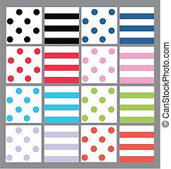 pricken, stripes