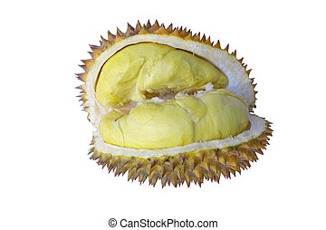 Prickly fruit or durian from Thailand.