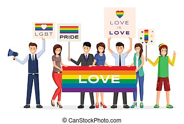 gay pride parade stock illustrations and vector graphics available royalty-