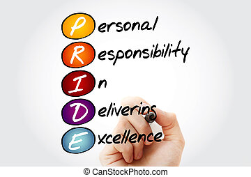 Personal Responsibility In Delivering Excellence