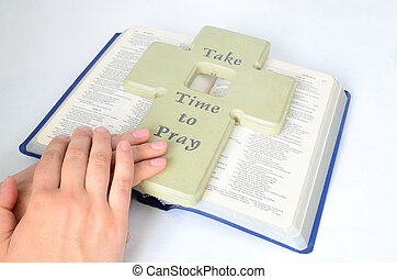 prier, prendre, temps