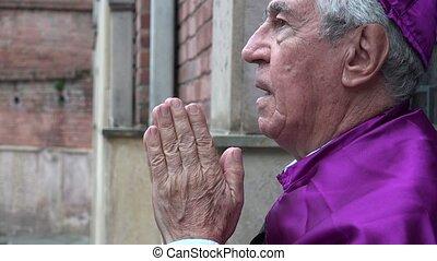 Priest Cursing God