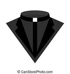 Priest dress icon vector illustration