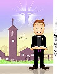 priest prayer