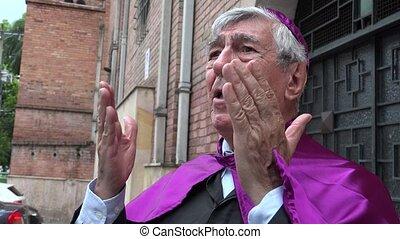 Priest Speaking
