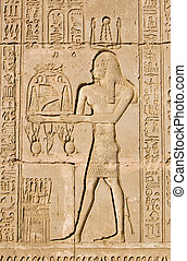 priester, oud, ra, egyptisch