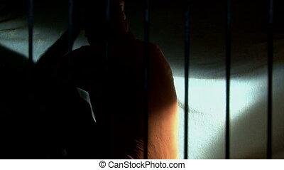 prigione, 3, prendere, uomo