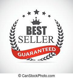 prijs, best, illustratie, etiket