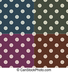 prikker, mønster, seamless, polka
