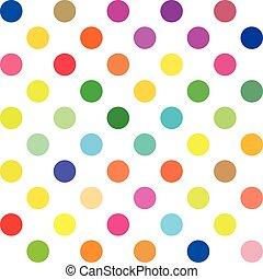 prikker, polka, baggrund