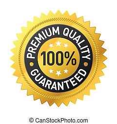 prima, calidad, etiqueta