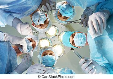 prima, operazione