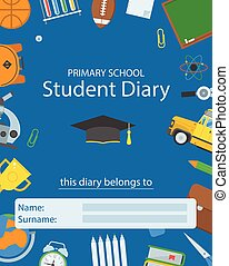 Primary School Diary Cover