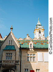 Primate's Square at old town in Bratislava, Slovakia