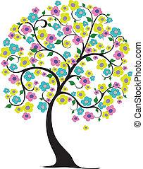 primavera, árvore