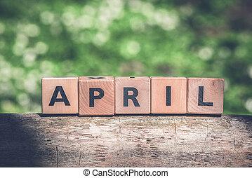 primavera, abril, verde, jardim, sinal