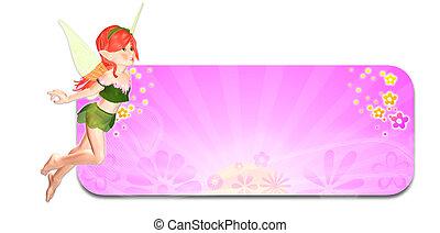 primavera, fata, header/banner