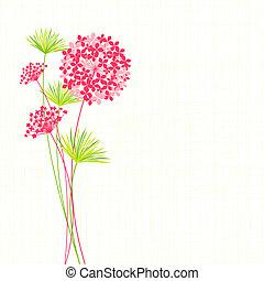 primavera, flor, plano de fondo