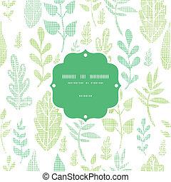 primavera, foglie, seamless, tessile, fondo, textured, modello, cornice