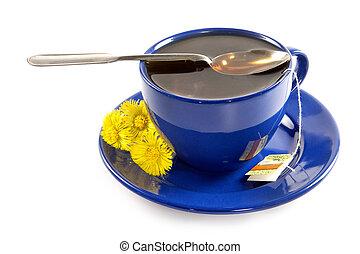 primavera, forte, tè