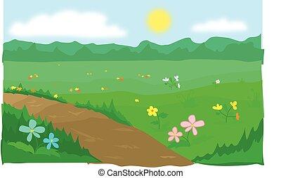 primavera, gramado