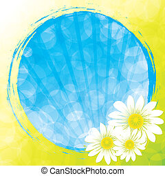 primavera, in, uno, sfera