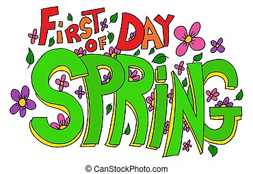 primavera, iscrizione, primo giorno