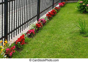 primavera, jardín