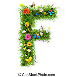 """primavera, lettera, """"f"""""""