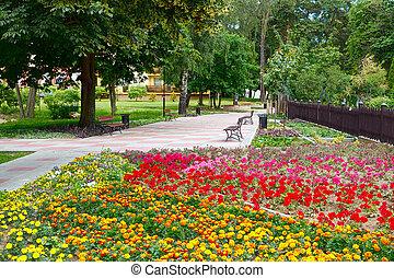 primavera, parque