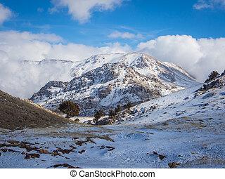 primavera, refúgio esqui, saklikent
