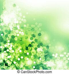 primavera, verde, dia, fundo, mães