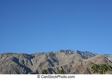 primavere, serie, palma, montagna