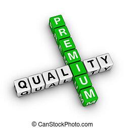 prime, qualité, icône